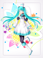 FA: hatsune miku [fixed] by sowelunee