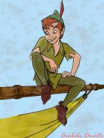peter pan by dokye