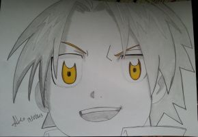 Young Edward Elric by alexasc82