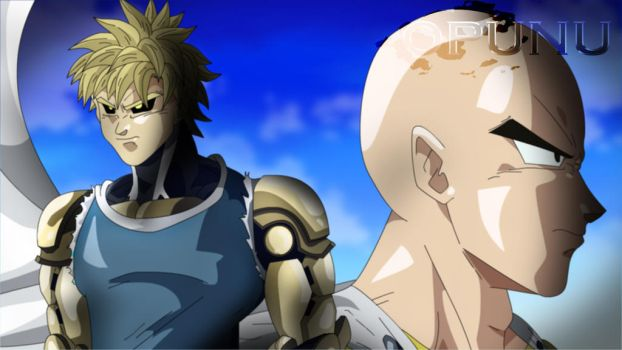 one punch ball z by opunu