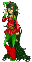 Solian Christmas Elf by Lintastic