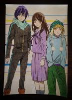 Noragami Group by Karina-o-e