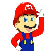 It's a me, Mario by Aurelio251