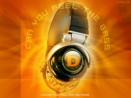 CAN YOU FEEL THE BASS by dinesh1201
