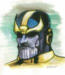 Thanos Watercolor by stourangeau