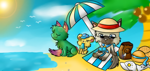 Summer contest entry by silvazelover2