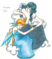 Olympus - Iris and Morphee by Iris-Yukimihime