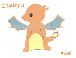 Chibi Charizard Paper Figure by Amy-the-Artisan