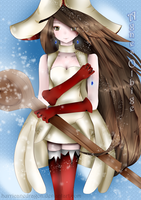 .:Bravely Default:. White Mage Agnes by HurricaneDragon