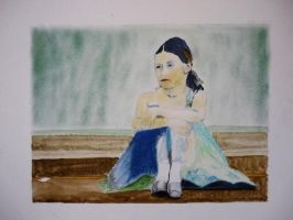 The Sad Little Ballerina by Moenn