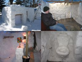 Snowfort 2007 by razzie13