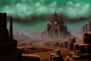 Deserted Kingdom by RichardBlumenstein