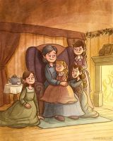 Little Women Sample Page 4 by danidraws