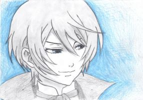 Alois Trancy Drawing by laartje205