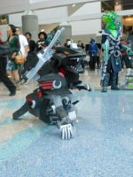 Lightning Saix at Anime Expo 2013 3 by MidnightLiger0