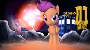 DJ Who Legacy Scootaloo by TheProdigy100