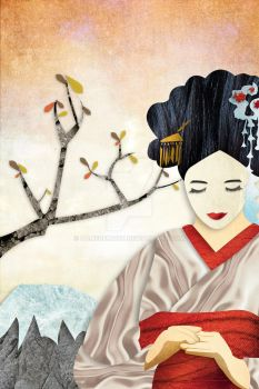 Geisha by damedemort