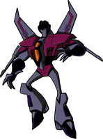 Animated Starscream by Megalorvi
