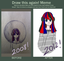Before and After: Random Girl by Parize