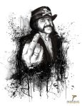 Lemmy tribute by Prestegui