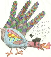 hand turkey 2010 by venkman3000
