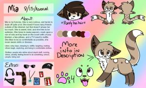 Mia's Reference Sheet!! (info in description!) by Skittscat