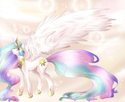 MLP: FiM PRINCESS CELESTIA by dreampaw