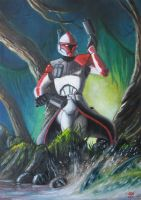 Captain Fordo painting by Reznorix