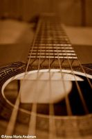 The guitar by Annasphoto