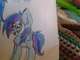 The small OC of my cousin by Htfjodi