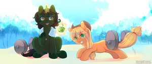 Summer Commission - ReXess by pekou