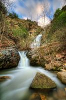 Skepasmeno waterfalls Velvento by NickKoutoulas