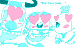 Mixels - Ghost!Cragsters and Love by PogorikiFan10