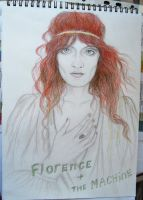 Florence Welch by sarun4ik