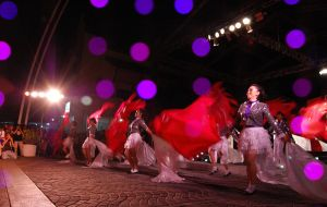 traditional dance for HUT R.I by CupuBanget