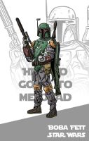 80 80s Heroes 8 Boba Fett by WillSliney