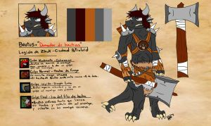 The Wolf On Demons Clothes - Brutus by Wolfshadow47