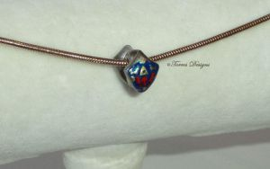 Sterling Silver Hyrule Hylian Shield Charm Zelda by TorresDesigns