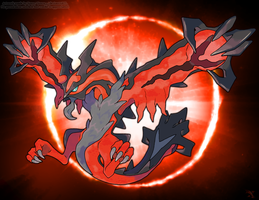 Mega Yveltal (Fake) by Xous54