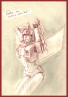 Moulin Rouge Starscream by MamonnA