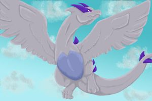 Day 7- Flying type by RebelInABox