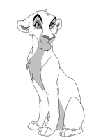 Proud lioness base by kopaisfluffy