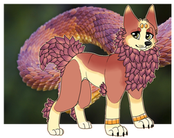 :FREE: Dragonsnake Iwiw :CLOSED: by Queen-Bea