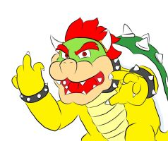 Naughty Bowser by BlackSoulAngelz