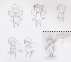death note - summer sketches by herman-the-handyman