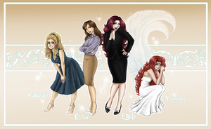 My Girls - Animeversion by RedPassion