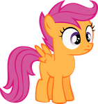 Scootaloo Vector by uxyd