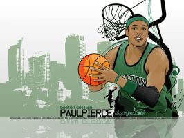 Paul Pierce by akyanyme