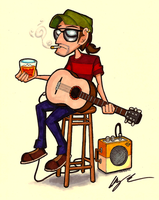 King of the Honky Tonk by brothersdude