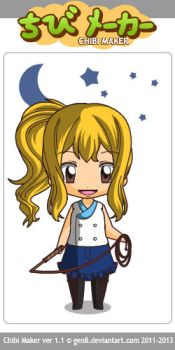 Fairy Tail Lucy Heartfilia by Loveycupcake